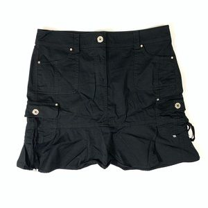 White House Black Market Skirt Black Cargo Pockets